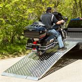 MF3-EZ-AMR Aluminum Folding Motorcycle Ramp - 3-Piece  Big Boy EZ Rizer 1