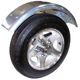 MPG466 Malone MicroSport Trailer Aluminum Wheel Upgrade