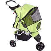 PET-STR-18 Pampered Pet Jogging Stroller for Small Dogs and Cats