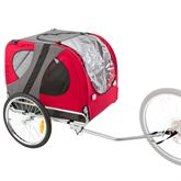 PT-10117-R Lucky Dog Pet Bike Trailer
