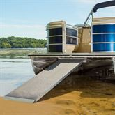 PontoonRamp Harbor Mate Aluminum Pontoon Boat Ramp