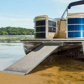 PontoonRamp Harbor Mate Aluminum Pontoon Boat Ramp