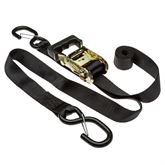 R7-STRAP-KITS 1-38 x 7 Ratchet Strap with S-Hooks - 2-pk 4-pk or 8-pk