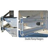 RAMP-HANGER Bolt-On Semi-Trailer Loading Ramp Storage Brackets 1