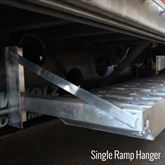 RAMP-HANGER Bolt-On Semi-Trailer Loading Ramp Storage Brackets 3