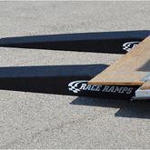 RR-TR-7-FLP Race Ramps Solid Car Trailer Ramps for Enclosed Trailer - 6000 lb Capacity 4