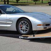 RR-TR-7-FLP Race Ramps Solid Car Trailer Ramps for Enclosed Trailer - 6000 lb Capacity 5