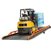 RYR-30-22 Steel Stationary Dock Ramp - 22000 lb Capacity