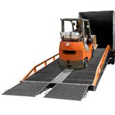 RYR-37-22 Steel Portable Yard Ramp - 22000 lb Capacity