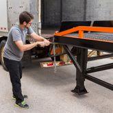 RYR-37-22 Steel Portable Yard Ramp - 22000 lb Capacity 3