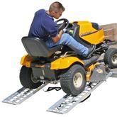 S-6012-2000-2 Black Widow Aluminum Straight Dual Runner ATV Trailer Ramps - 5 Long