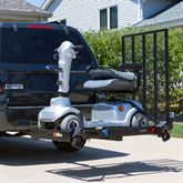 SC400-V2 Silver Spring Steel Folding Scooter and Wheelchair Carrier 1