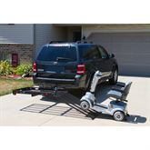 SC400-V2 Silver Spring Steel Folding Scooter and Wheelchair Carrier 2