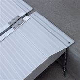 SCG-X Silver Spring Single-Fold Wheelchair Ramp - 600 lb Capacity 4