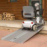 SCGPLUS Silver Spring Single-Fold Wheelchair Ramp - 600 lb Capacity 1