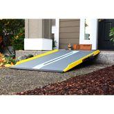 SFGF-Ramp EZ-Access Graphite Fiber Suitecase Singlefold Wheelchair Ramps 1