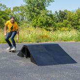 9-Piece Full Fly Skateboard Ramp Kit