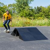 SK-79901 16 High 5-Piece Double Launch Skateboard Ramp Kit 1