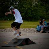 SK-900 12 High Double Launch Skateboard Ramp Kit 3