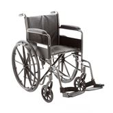 SMA123P Silver Spring Essential Steel Manual Wheelchair