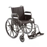 SMA45P Silver Spring Premium Steel and Aluminum Manual Wheelchair