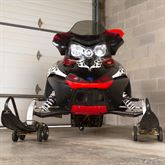 SMDOLLY Black Ice Drivable Snowmobile Dolly 2