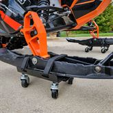 SNO-1503 Black Ice Snowmobile Dolly Set 5