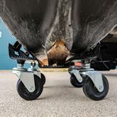 SNO-1503 Black Ice Snowmobile Dolly Set 6
