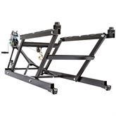 SNO-1508-W Black Ice Deluxe Snowmobile Jack with Winch - 700 lb Capacity