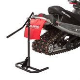 SNO-1512 Black Ice Heavy-Duty Snowmobile Track Stand and Lift 2