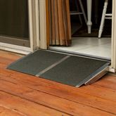 Silver Spring Aluminum Solid Threshold Ramp