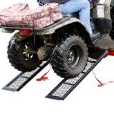 ST-4811-1600-MV2 Black Widow Steel Mesh Dual Runner ATV Trailer Ramps - 4-12 Long