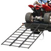 ST-TF-7449 6 2 L Black Widow Steel Tri-Fold ATV Ramp - 1000 lb Capacity