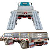 STEP-DECK-LL-KIT-20-235K 23500 lb Step Deck Trailer Load Levelers and Ramp Kit for 20 H Step Decks