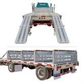 STEP-DECK-LL-KIT-26-235K 23500 lb Step Deck Trailer Load Levelers and Ramp Kit for 26 H Step Decks