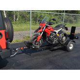 STNG-5452 Stinger Folding Motorcycle Trailer 1