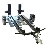 STNG-8766 Stinger Folding Double Motorcycle Trailer