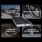 SUITCASE-AS EZ-Access Suitcase Single-Fold AS Wheelchair Ramp - 800 lb Capacity 5