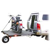 SW-58 Swivelwheel Single Wheel Motorcycle Trailer - 1000 lbs Capacity