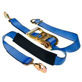 Strap-2-Axle Single 2 x 8 Ratchet Axle Strap with Snap Hooks
