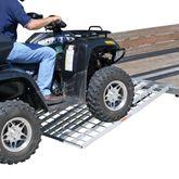 TF-6050-1500A-ATV Black Widow Aluminum Tri-Fold ATV Trailer Ramp