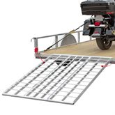 TF-6050-1500A Black Widow Aluminum Folding Motorcycle Trailer Ramp
