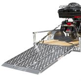 TF-60EZ Big Boy EZ Rizer Aluminum Tri-Fold Motorcycle Trailer Ramp
