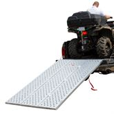 TFP-9354 Black Widow Aluminum Punch Plate Tri-Fold ATV Ramp