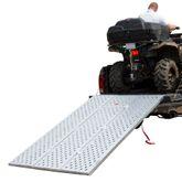 TFP-RAMP Black Widow Aluminum Punch Plate Tri-Fold ATV Ramp
