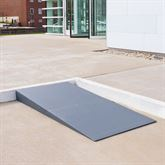 THFS-ADA Silver Spring Foam Threshold Ramp - 1500 lb Capacity - ADA Compliant 1