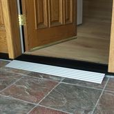 Thresh-1 75 - 125 Rise EZ-ACCESS TRANSITIONS Aluminum Modular Threshold Ramp