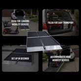 Trifold-AS EZ-Access Aluminum Suitcase Tri-Fold AS Wheelchair Ramp 4