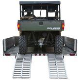 UTV-6520 5 5 L Ride Master Aluminum Arched Dual Runner UTV Ramps - 3000 lb Capacity
