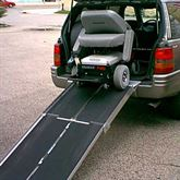 UTW PVI Aluminum Multi-Fold Rear Door Wheelchair Van Ramp 1